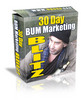 30 Day Bum Marketing Blitz